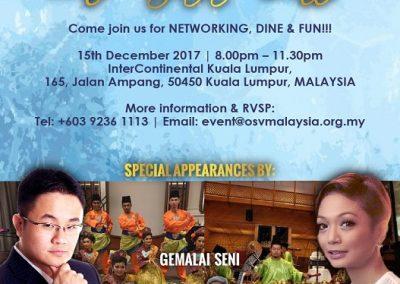OSV MALAYSIA 2nd GALA DINNER 2017